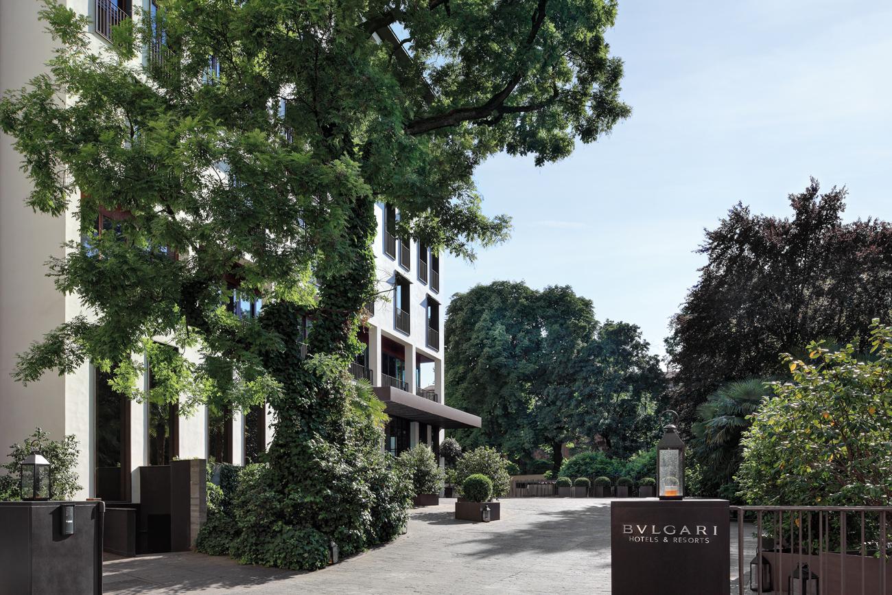 Bulgari Hotel In Milan, Italy