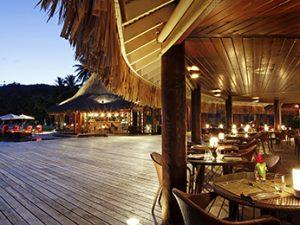 sofitel restaurants in bora bora