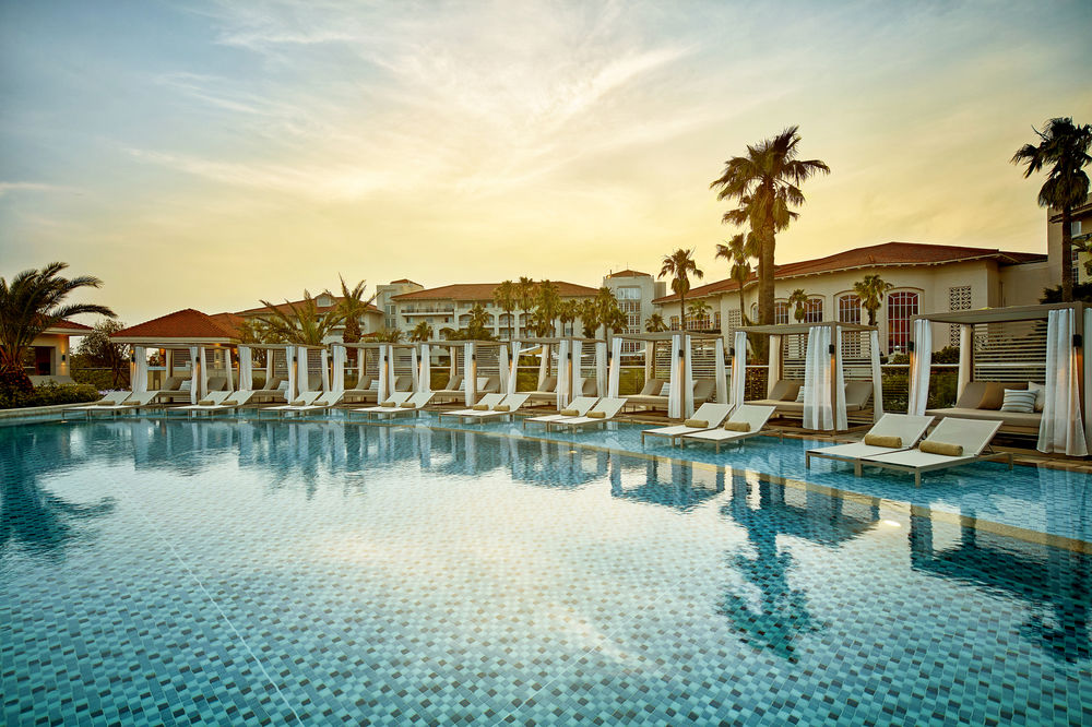 Beautiful pool at The Shilla Jeju Resort in Jeju South Korea