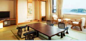Sea view room in the Resort Hills Toyohama Sora no Kaze