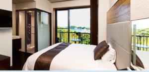 Semi-Double room in the Resort Hills Toyohama Sora no Kaze