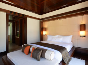 Gaya Island Resort room; Bayou Villa