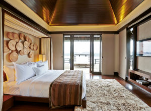 Gaya Island Resort room; Suria Suite