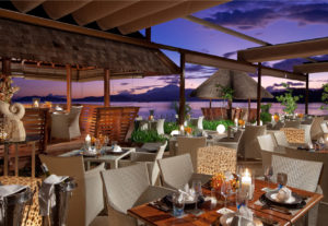 Gaya Island Resort restaurant; Fisherman's Cove