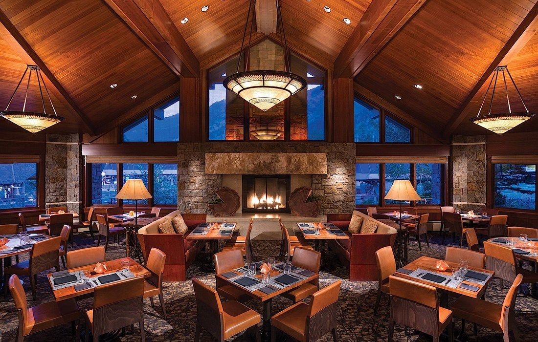 The Four Seasons Resort  in Jackson Hole, Wyoming