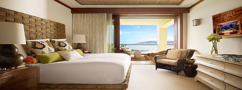 Premier Ocean View Room at Montage Kapalua Bay