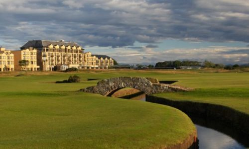 Old Course Hotel in Scotland