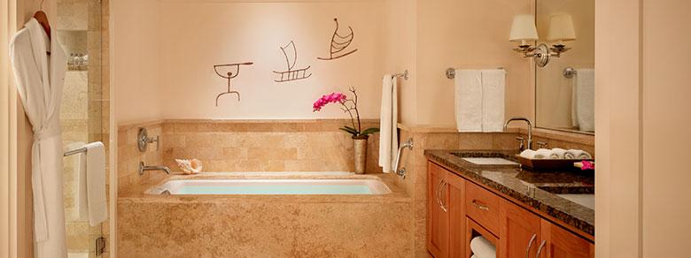 Bathroom in Montage Kapalua Bay Resort
