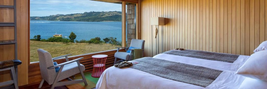 Rooms at the Tierra Chiloé Hotel & Spa