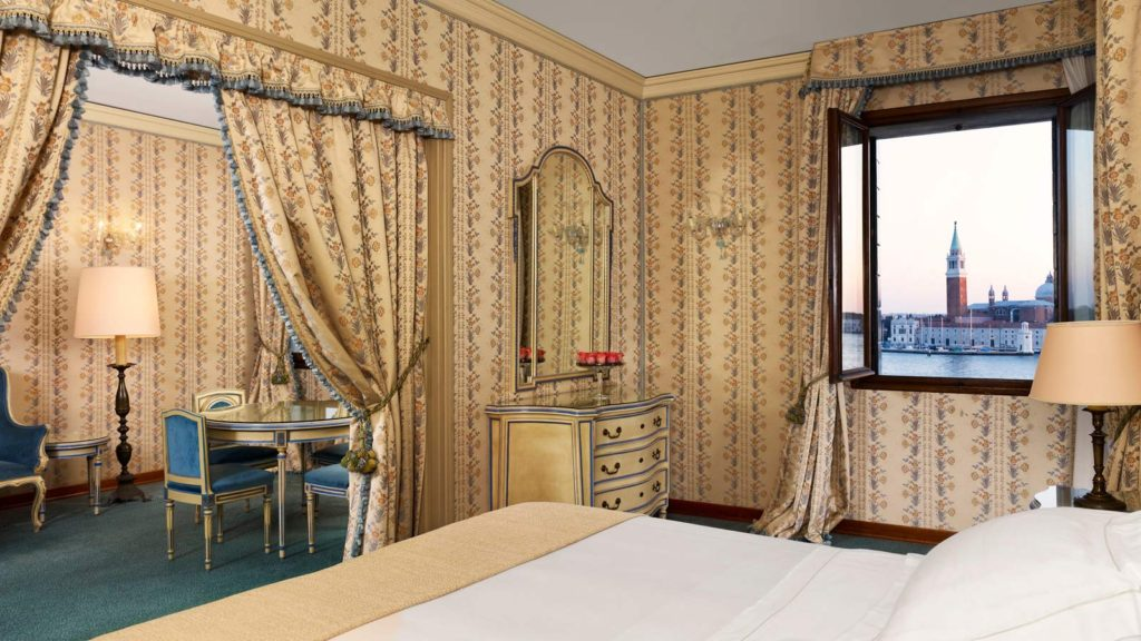 Enjoy additional living space and magnificent views of San Giorgio Maggiore Church and the Venice lagoon islands with a stay in these Lagoon View Junior Suites.