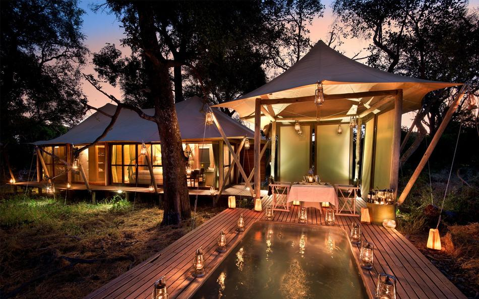 &Beyond Xaranna Okavango Delta Camp in Africa