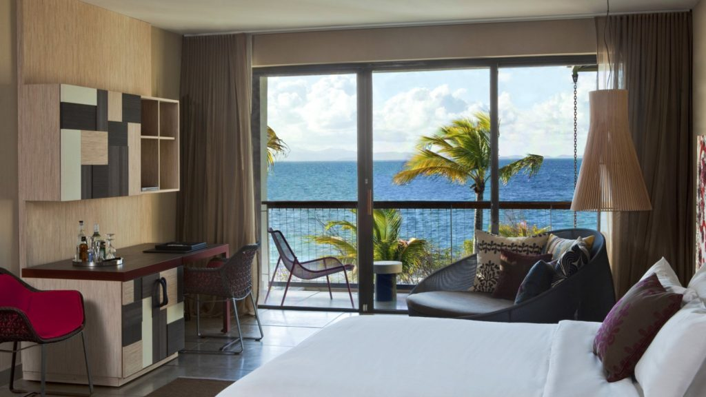 he view from the Fabulous Ocean Front Escape at the W Retreat & Spa