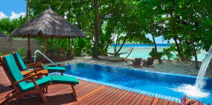 Deluxe Beachfront Villa of Hilton Seychelles Labriz Resort & Spa
