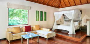 Deluxe Hillside Villa of Hilton Seychelles Labriz Resort & Spa