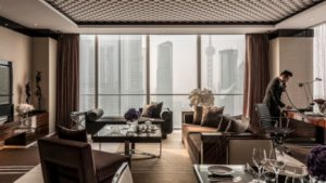 Pearl View Junior Suite at the Four Seasons in Shanghai