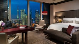 the pearl view club room at the four seasons in shanghai