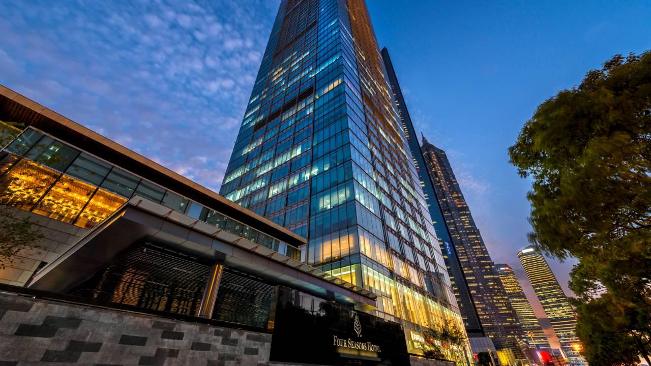 Four Seasons Hotel at Pudong Shanghai, China
