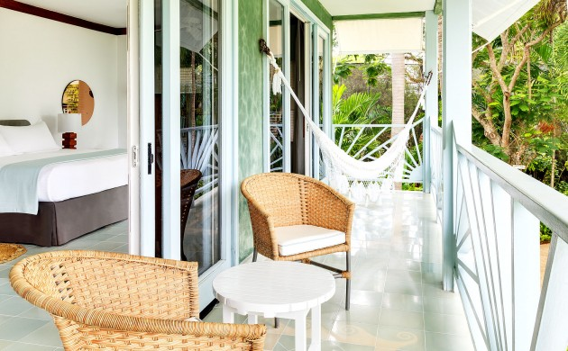 Garden Suite room at the Couples Negril, Jamaica