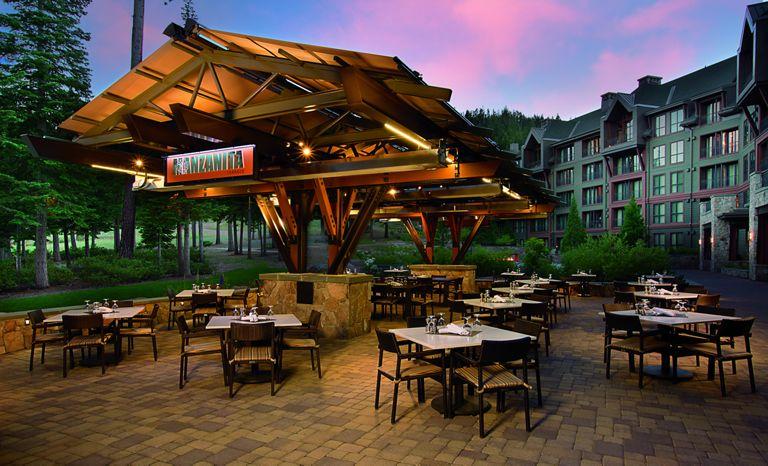 The Manzanita restaurant at the Ritz-Carlton at Lake Tahoe