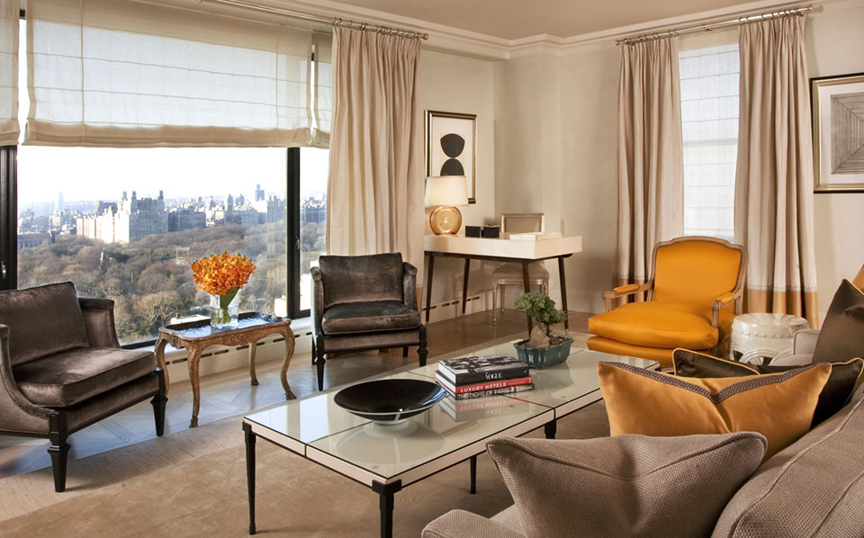 Central Park Tower Suite at the Carlyle NYC