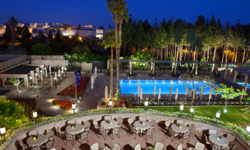The King David Hotel in Jerusalem