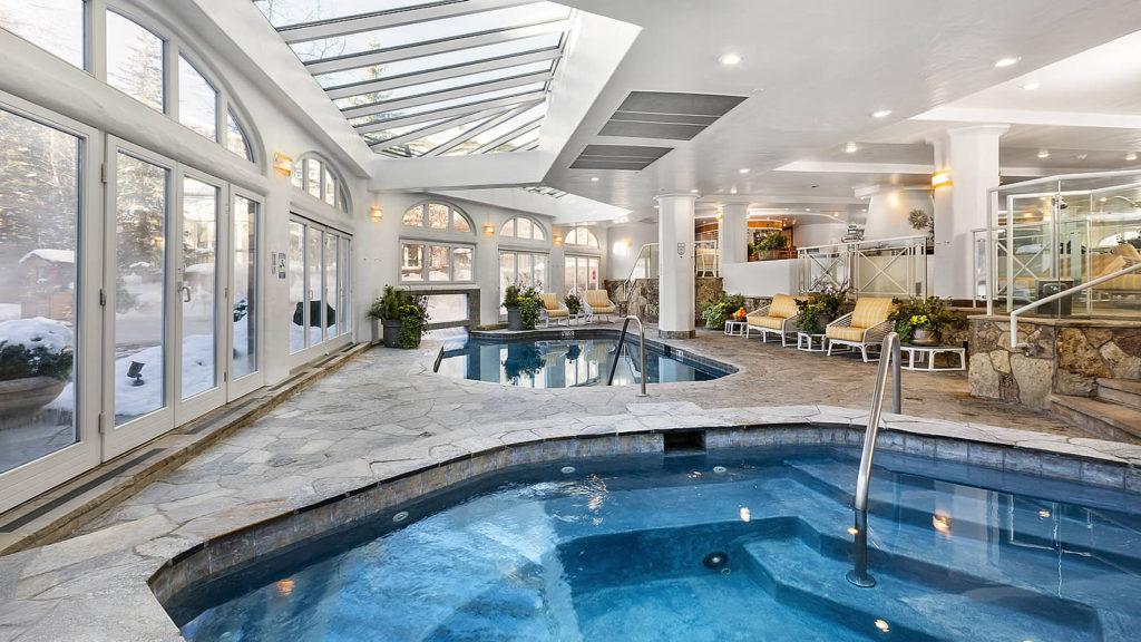 The Sonnenalp hotel pool