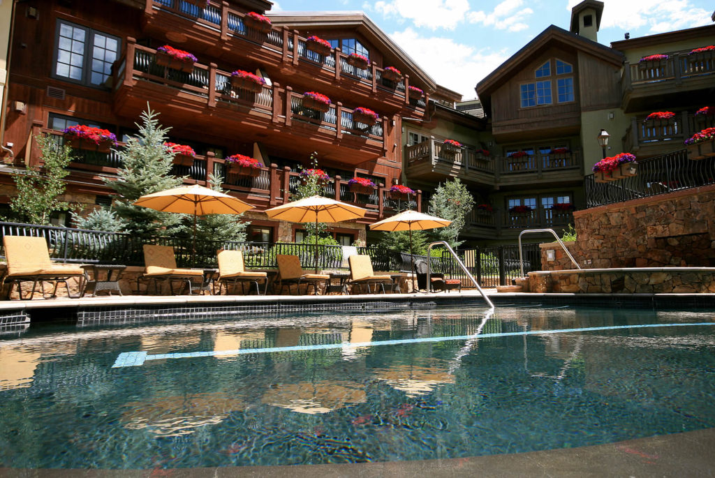 These residences are located in the heart of Vail Village