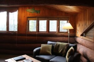 Treehouse Junior Suites at the Trout Point Lodge in Canada