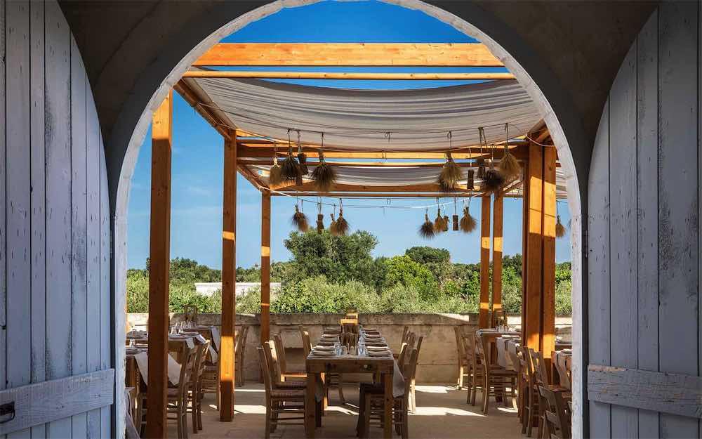 La Frasca restaurant at Borgo Egnazia
