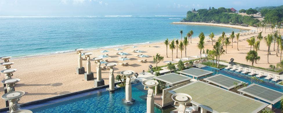 The Mulia resort in Bali, Indonesia