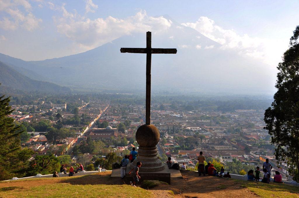 Cerro de la Cruz lookout
