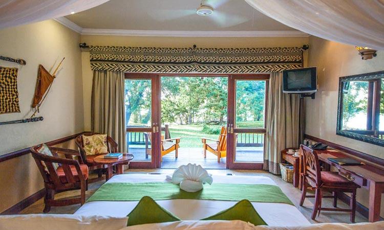 Luxury Safari Room at the Chobe Safari Lodge