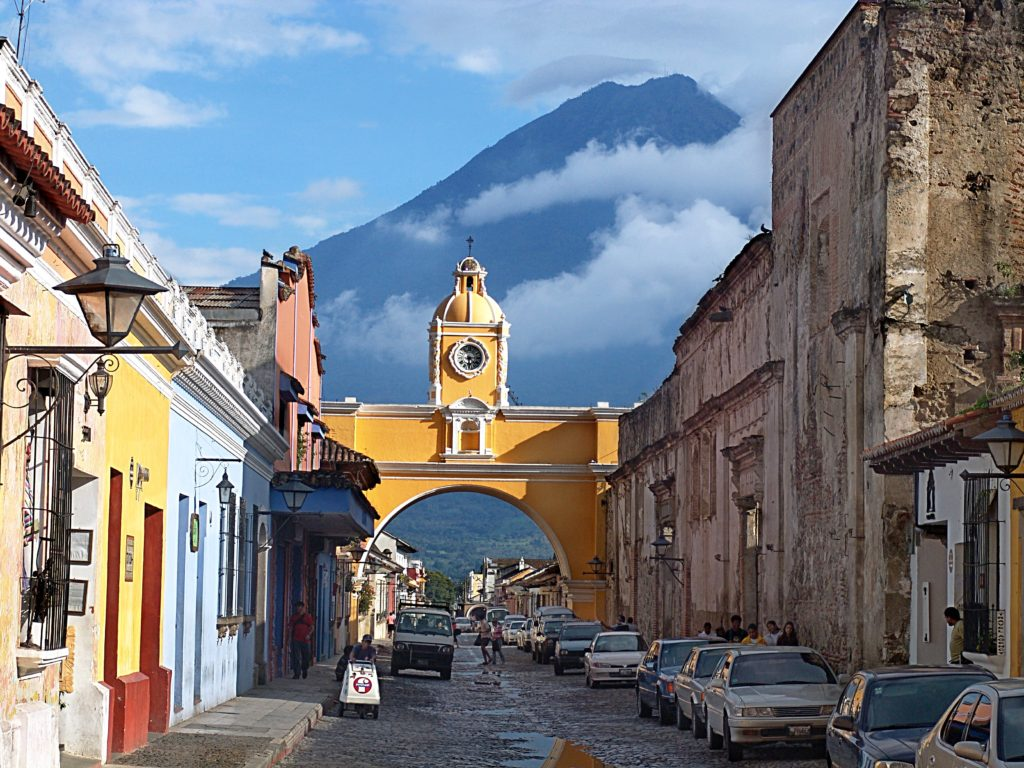 streetview of Antigua