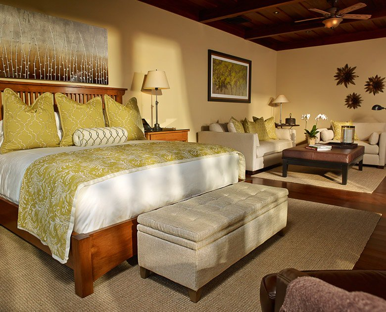 View of a deluxe king room at Auberge Resort at Hacienda AltaGracia