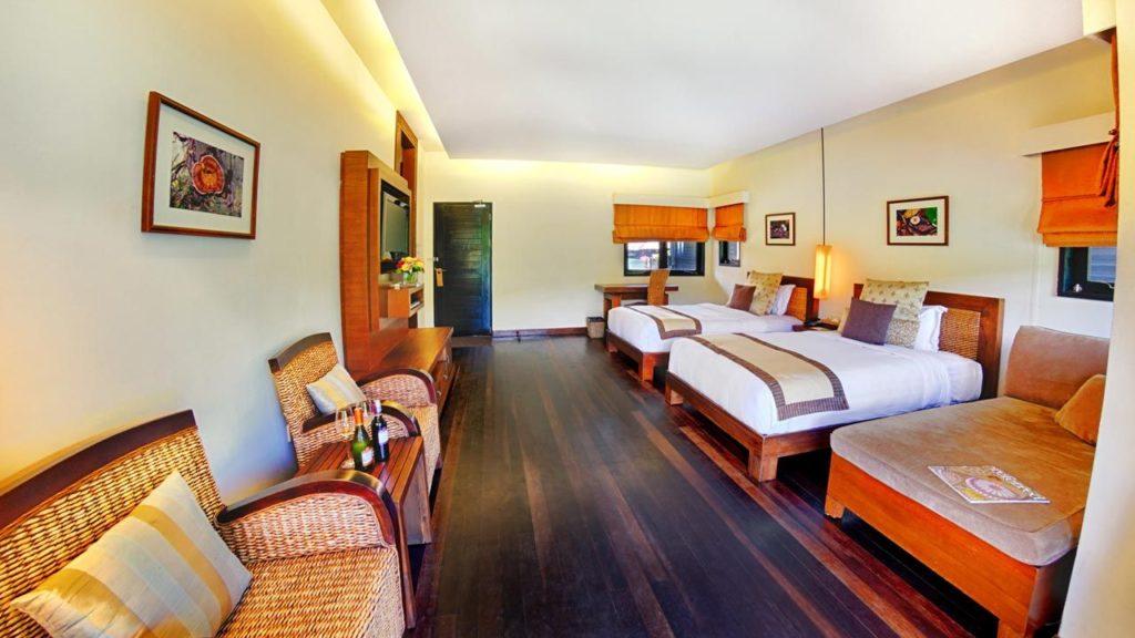 View of a villa at Gayana Marine Resort