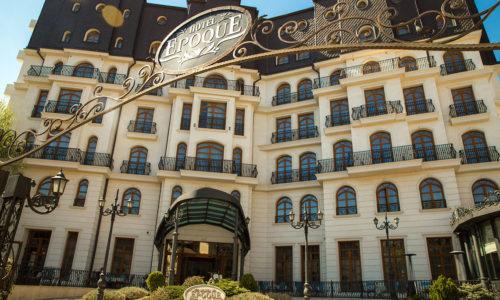 Hotel Epoque in Romania
