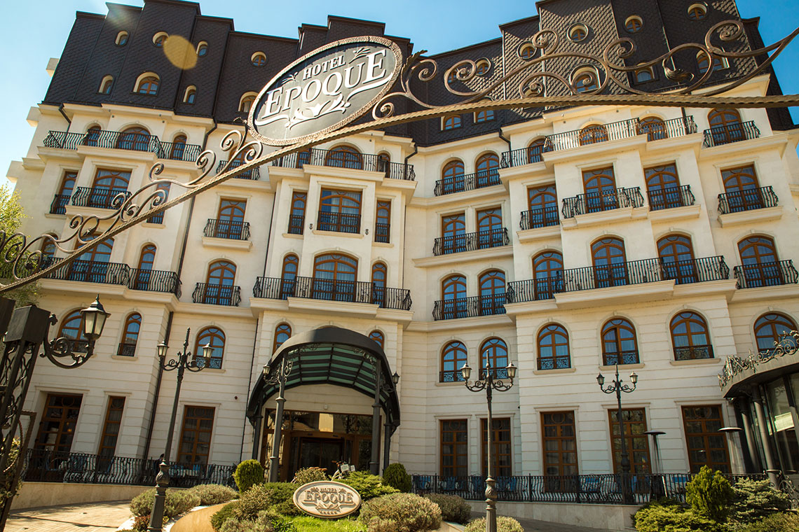 Hotel Epoque in Romania