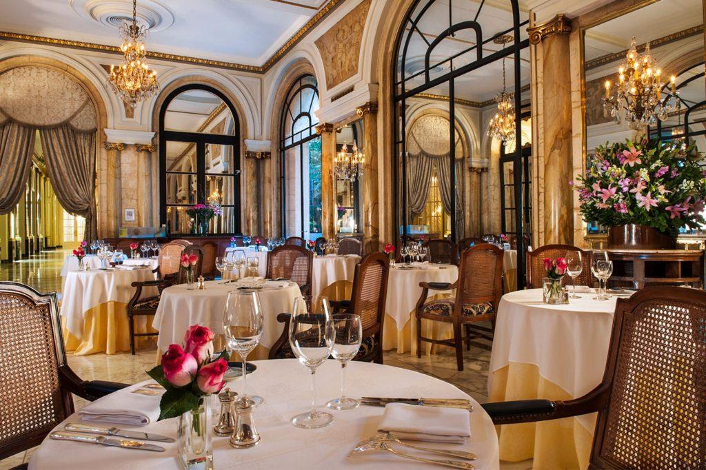 Alvear Palace Hotel's restaurant L'Orangerie