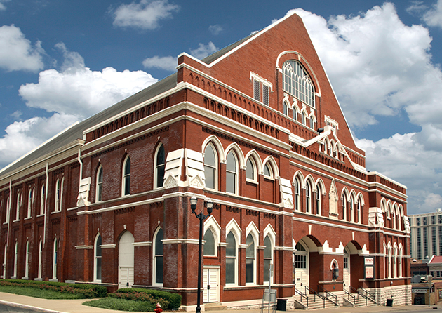 Front of Ryman Auditorium