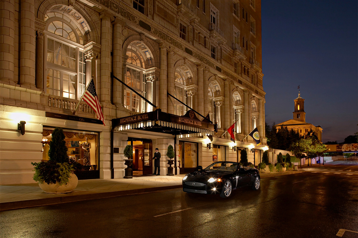 The Hermitage Hotel in Tennessee