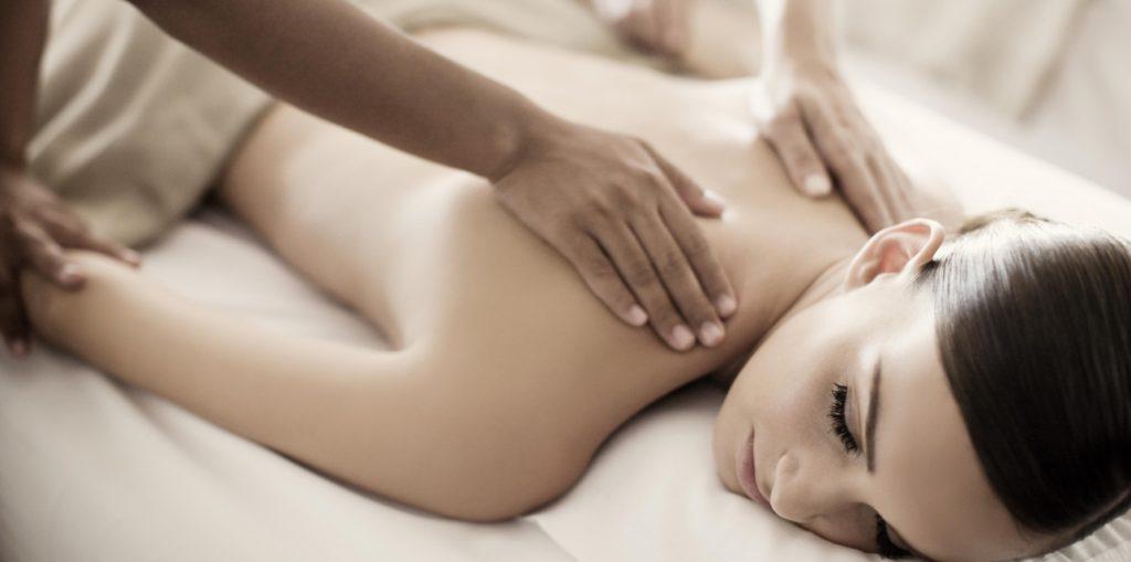 Woman getting a massage at the Hotel Fasano Rio de Janeiro