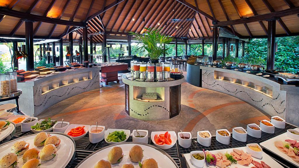 Buffet spread at the Kakuni at JA Manafaru resort in Maldives