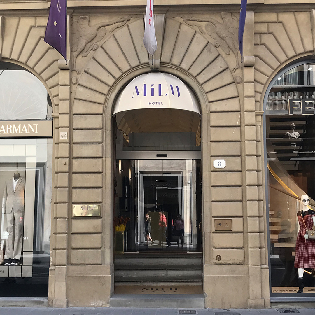 Milu Hotel in Florence, Italy
