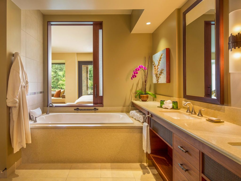 An Allison resort guest room bathroom