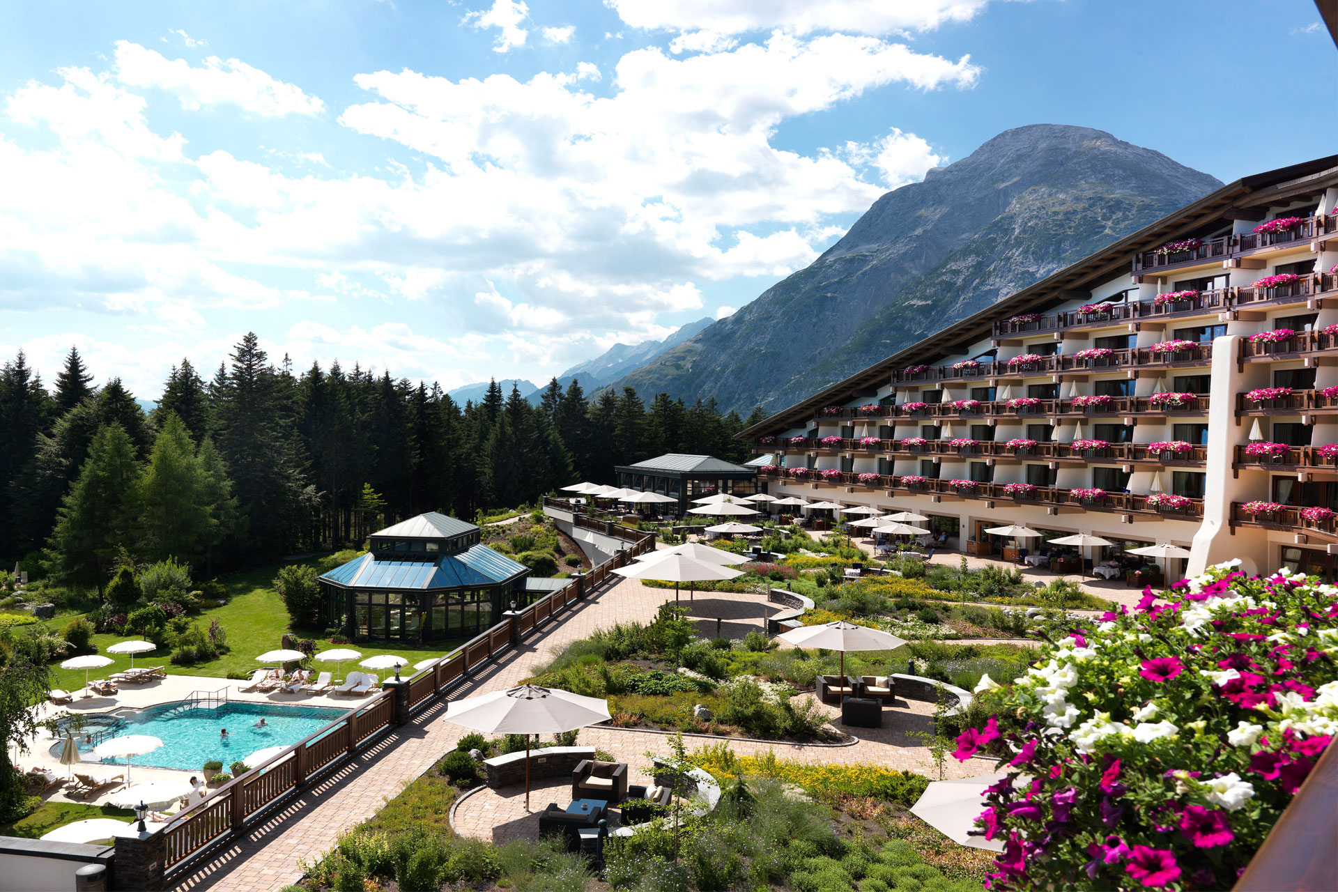 Interalpen-Hotel Tyrol in Austria