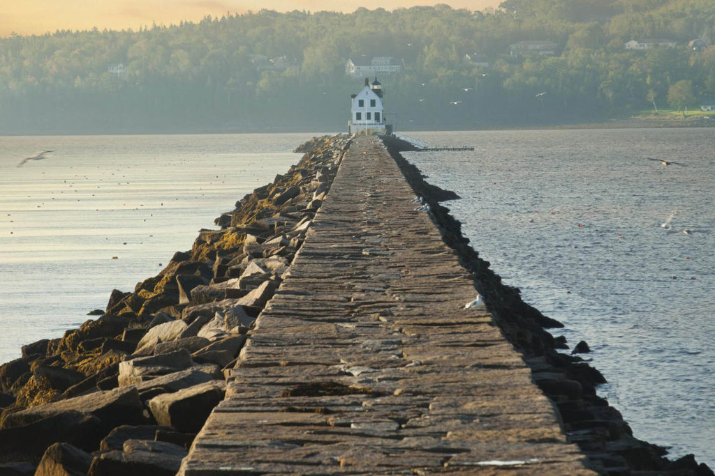 lighthouse near the Samoset Resort