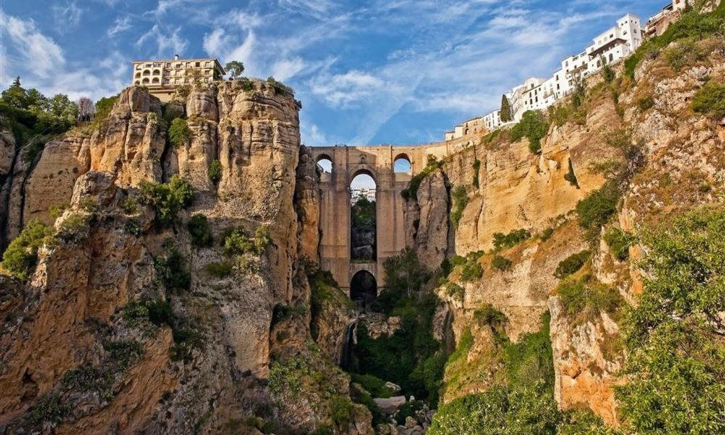 The historic city of Ronda