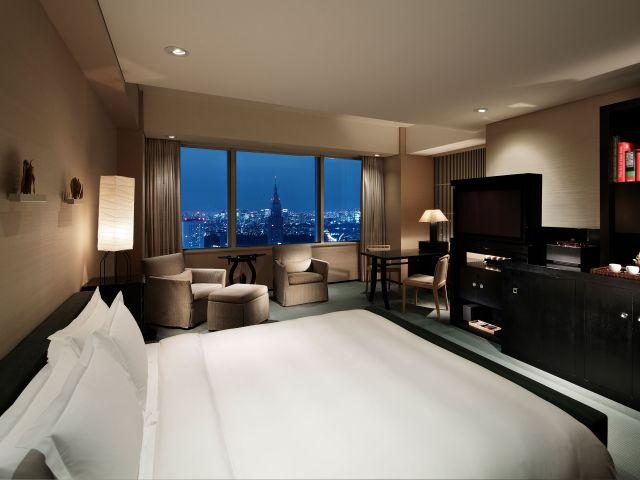 room in the Park Hyatt Tokyo Hotel